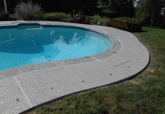 Concrete Pool Deck Sundek