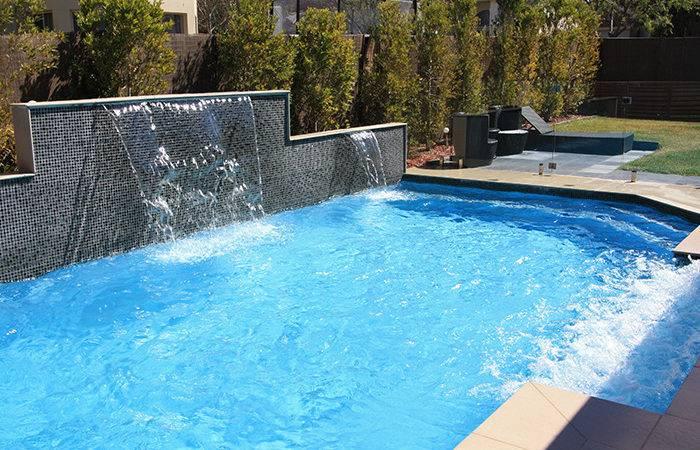 Concrete Pool Pools Sydney Palm Spas