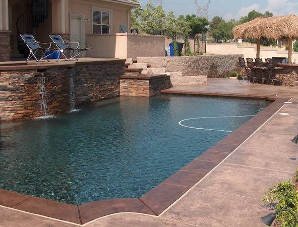 Concrete Pools Upland Decks