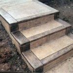Concrete Steps Backyard Ideas Pinterest Walkway Patio