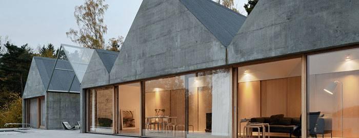 Concrete Summerhouse Sweden Nordicdesign