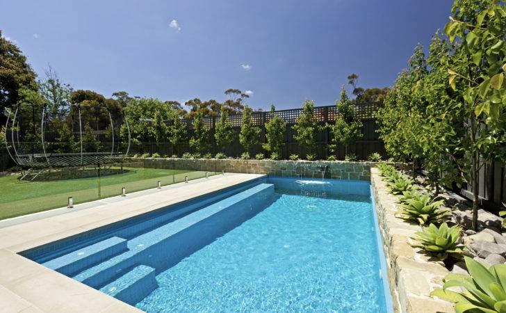 Concrete Swimming Pool Design Remco Swimroll Automatic Cover