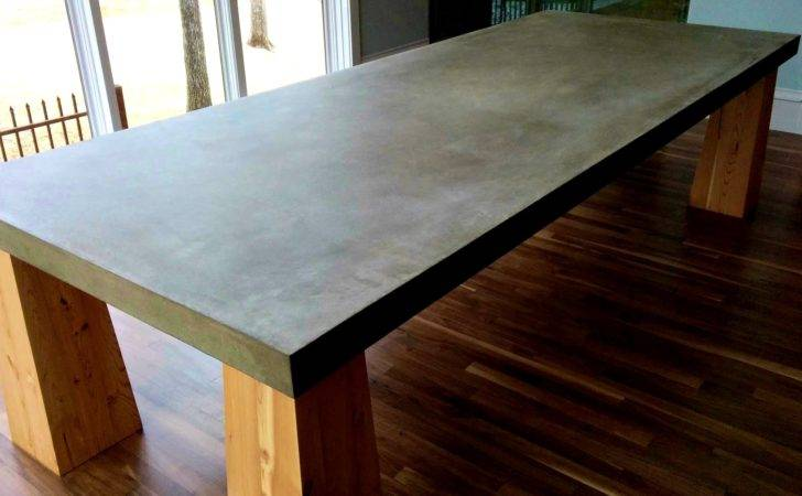 Concrete Tables Ideas Toay Furniture Zeevolve