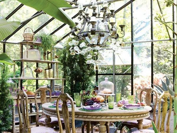 Conservatory Bringing Outdoors Inside Furnish Burnish