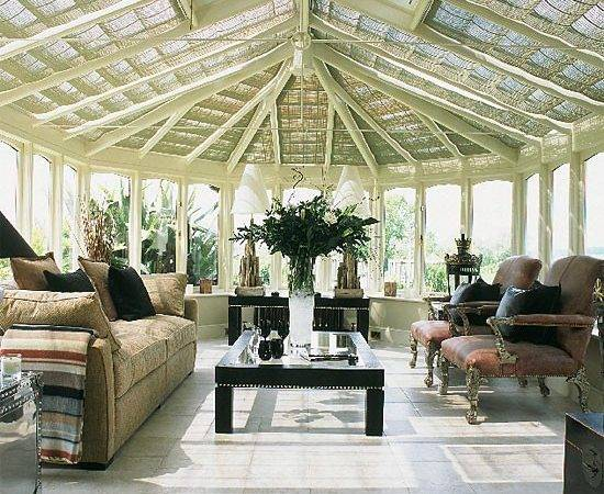 Conservatory Filled Unusual Objects Bought Specialist