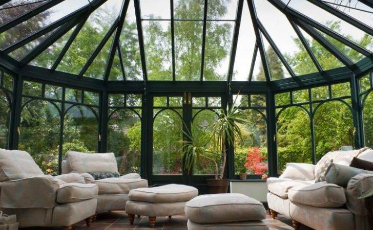 Conservatory Sunrooms Provide Classic Domed Appearance Makes