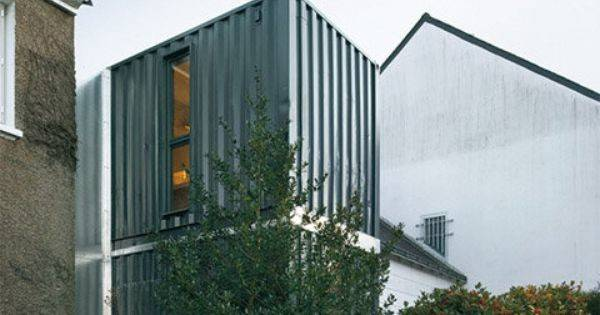Container Addition Bldg Cargo Pinterest House