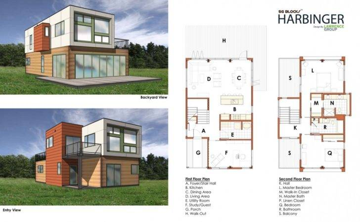 Container Home Designs Land Printable House Plans