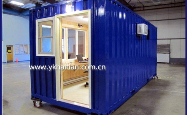 Container House Shipping Wheels