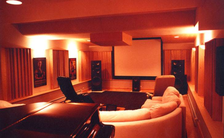 Contemporary Burl Veneer Wood Home Theatre Wall Panels One Kind