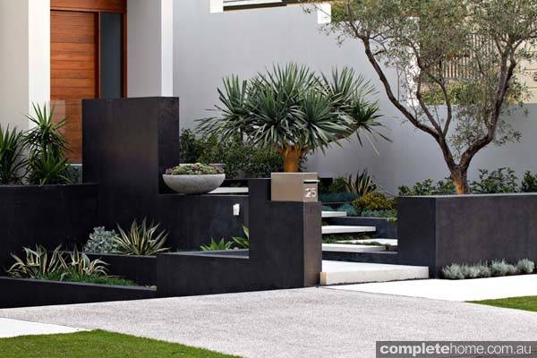 Contemporary Coastal Landscape Design Tim Davies Landscaping