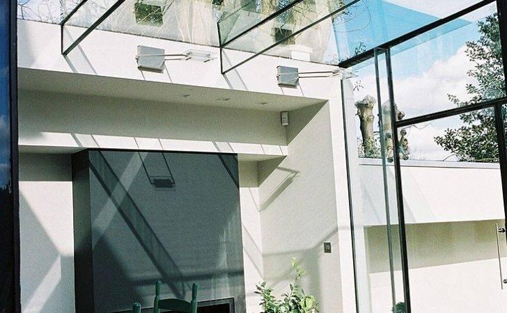 Contemporary Conservatories Modern Frameless Glass Extensions Interior