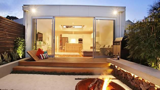 Contemporary Courtyard Gardens City Home Design Lover
