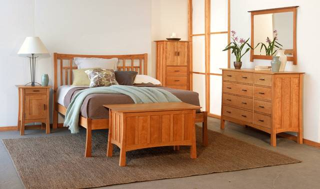 Contemporary Craftsman Bedroom Furniture