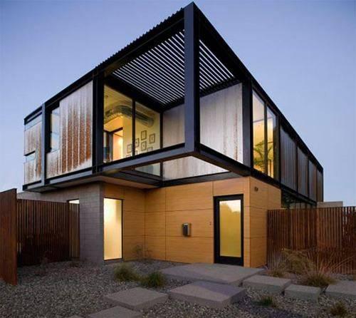 Contemporary Facade Design Modern Ideas