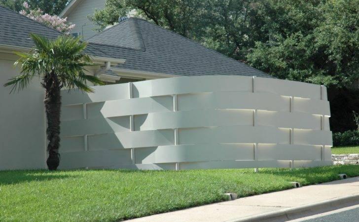 Contemporary Fence Idea Jenny Nybro Peterson
