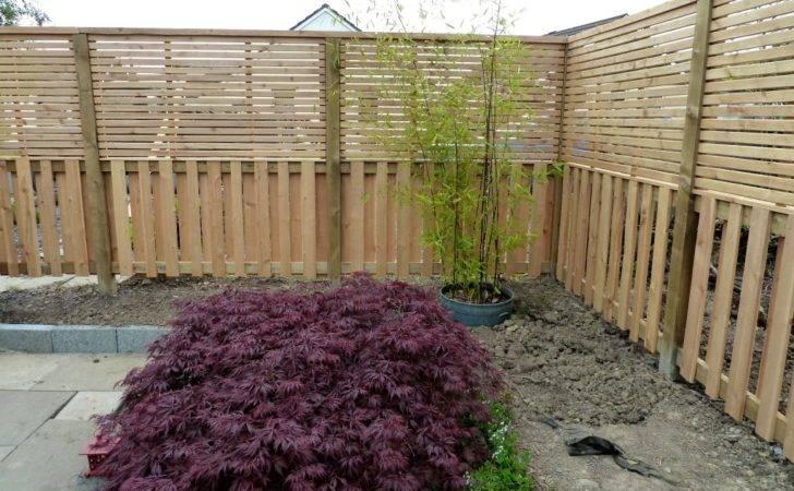 Contemporary Fence Japanese Garden Wealden Heartwood