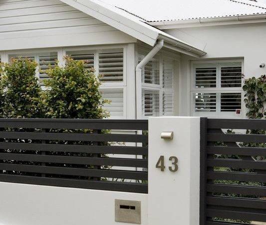 Contemporary Fencing Gates Modern Fence Design