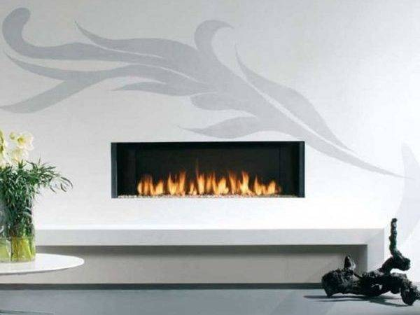 Contemporary Fireplace Mantels Modern Gas Fireplaces