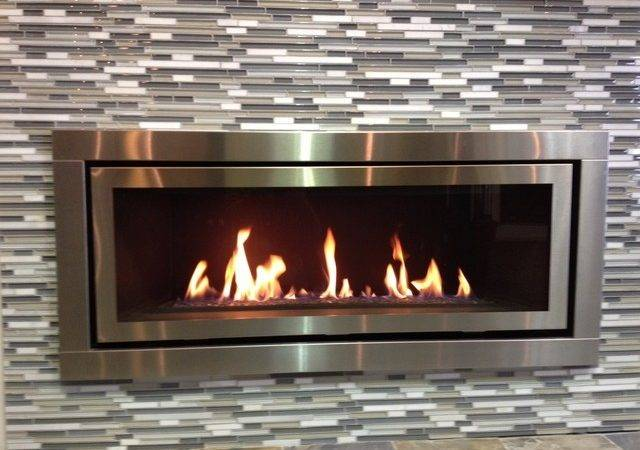 Contemporary Gas Fireplace Fireplaces