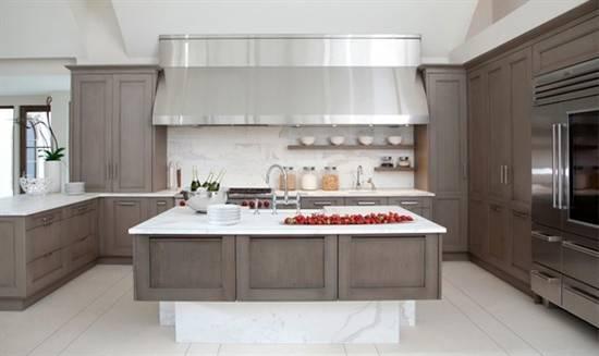 Contemporary Greige Kitchen