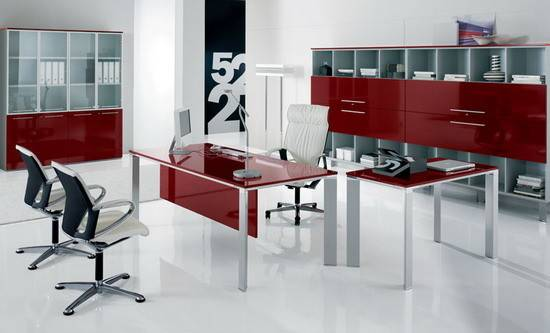 Contemporary Home Office Furniture Design Ideas