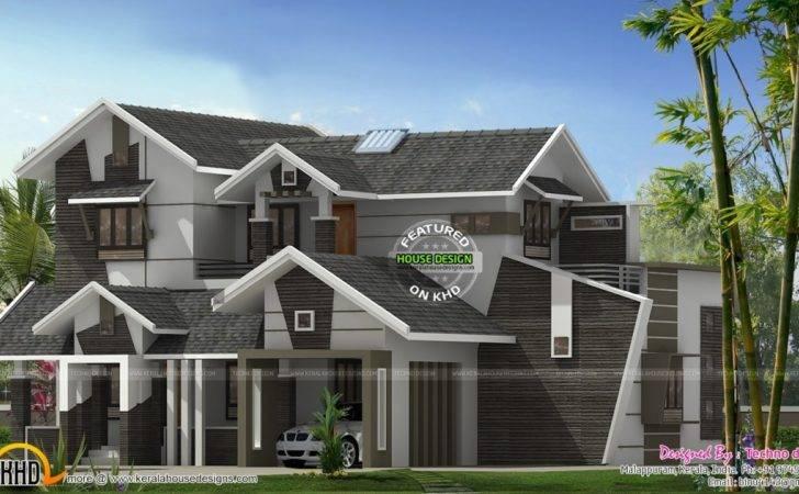 Contemporary House Features Unique Modern