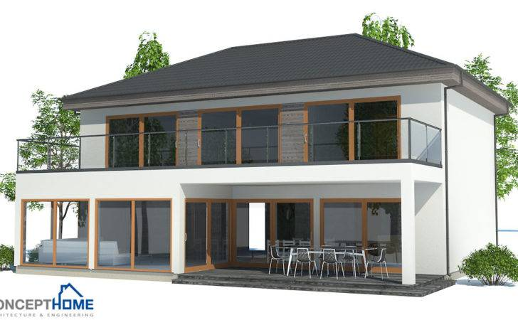 Contemporary House Plans Modern Plan