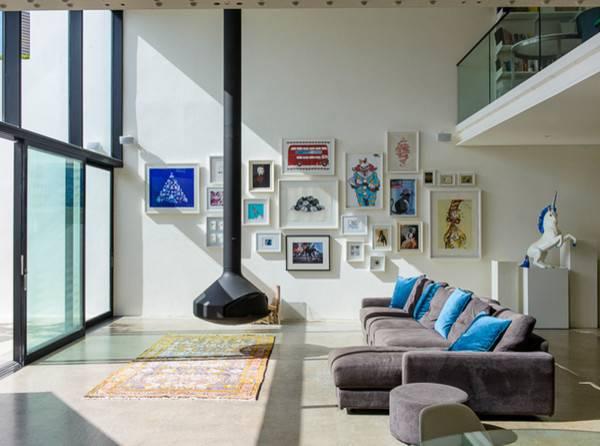 Contemporary Indoor Fireplaces Sydney Oblica