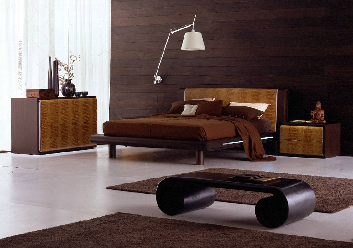 Contemporary Italian Bedroom Dedsign Ideas