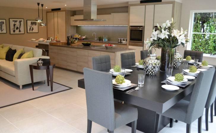 Contemporary Kitchen Diner