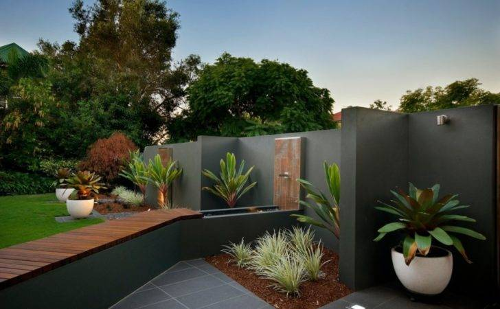 Contemporary Landscape Beautiful Decoration Ideas Brisbane