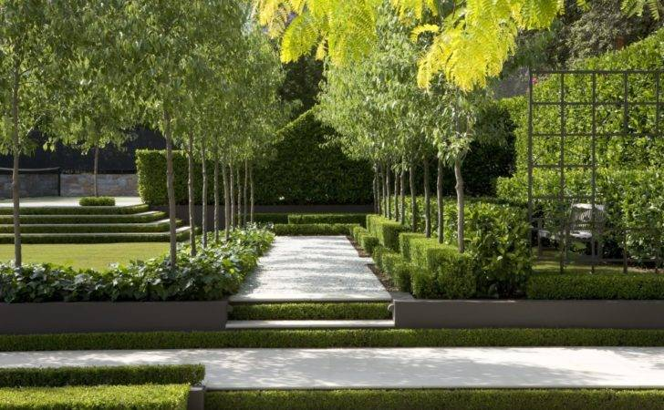 Contemporary Landscapes Modern Gardens Inspiration Spring