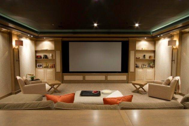 Contemporary Media Room Design Ideas Like Pinterest