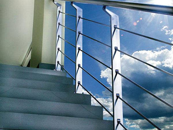 Contemporary Metal Handrail