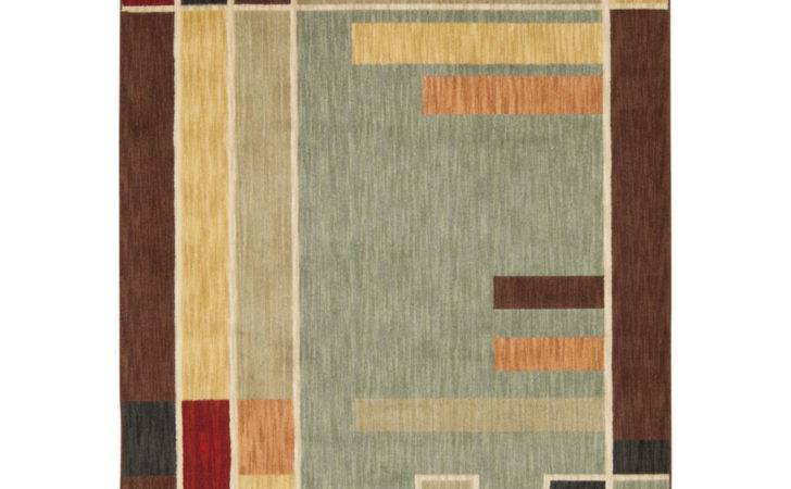 Contemporary Mission Style Arts Crafts Geometric Area Rug Ebay