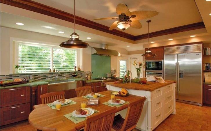Contemporary Modern Retro Casual Kitchen