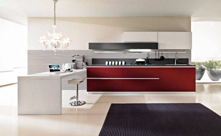 Contemporary Modular Italian Kitchen Design Ideas