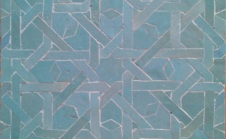 Contemporary Moroccan Mosaic Tile Modern Kitchen Backsplash