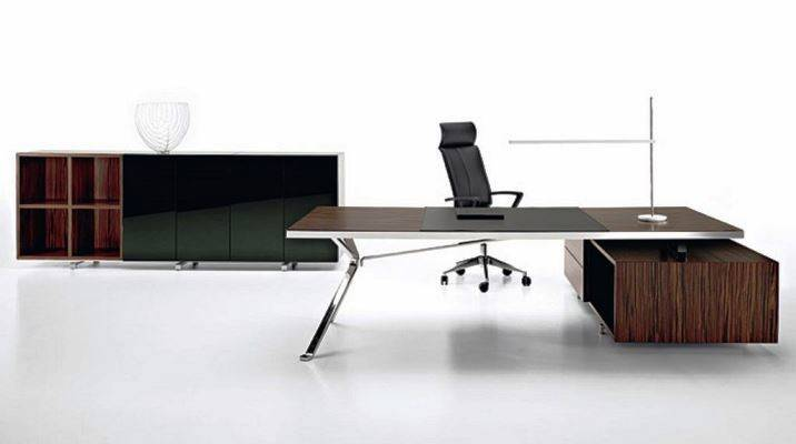 Contemporary Office Furniture Desk Source Pinterest