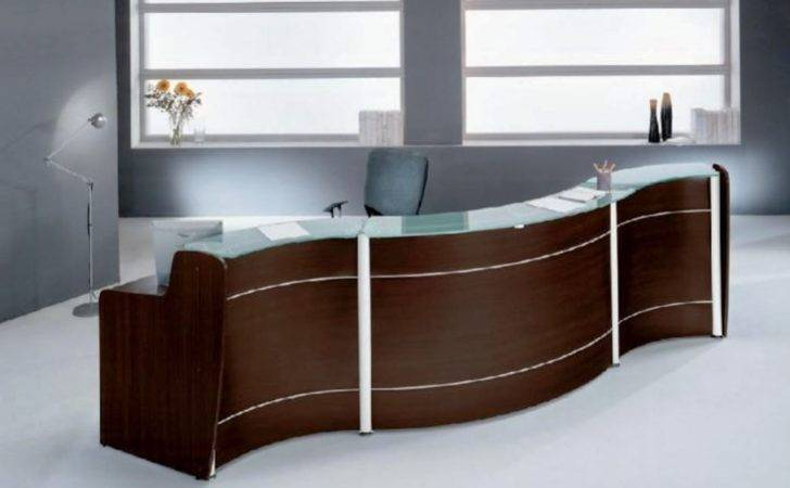Contemporary Office Reception Furniture Desk