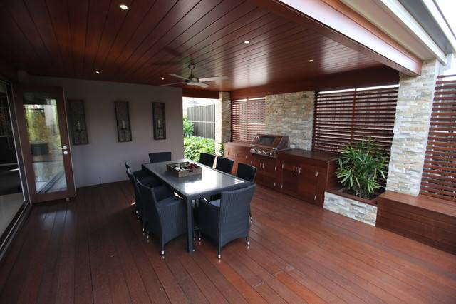 Contemporary Outdoor Dining Room Modern Other Metro