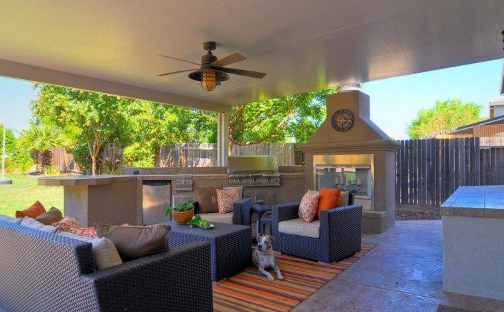 Contemporary Outdoor Living Room Kitchen Hgtv