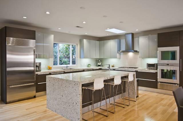 Contemporary Pedini Kitchen San Francisco