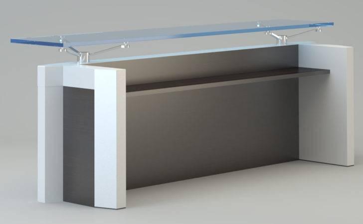 Contemporary Reception Desk Model Max Cgtrader