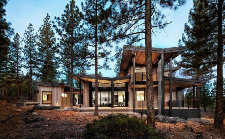 Contemporary Rustic Homes
