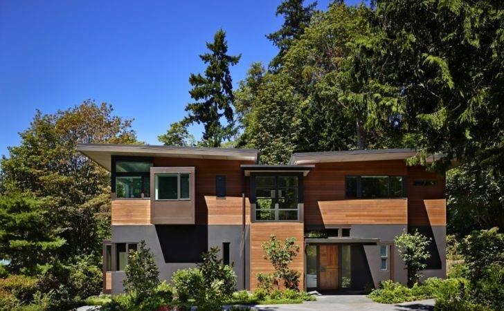 Contemporary Single Home Located Seattle Washington