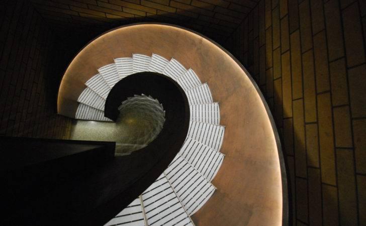 Contemporary Stair Handrail Lighting Ideas