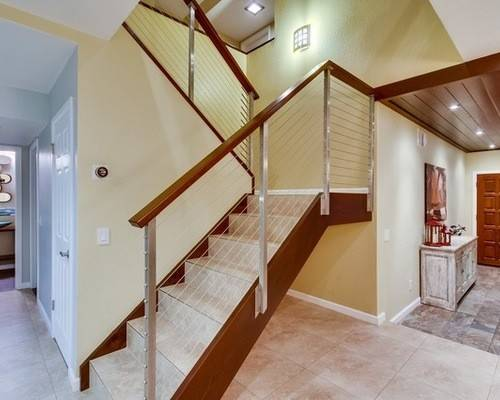 Contemporary Stair Railing Design Ideas Remodel Houzz