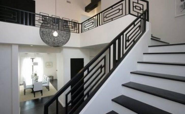 Contemporary Stair Railing Design